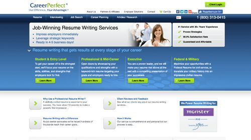 Full List of Reviewed Resume Writing Services | Resumance