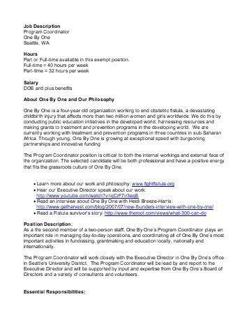 Job Description: MHSA Stipend Program Coordinator - capic