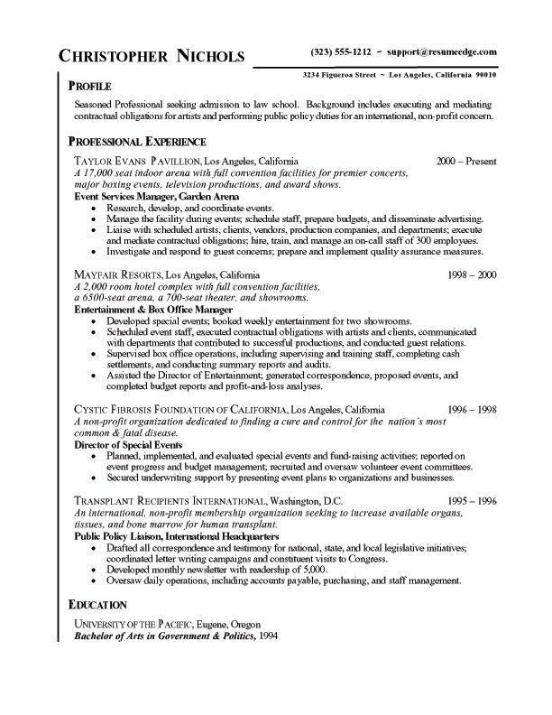 Stunning Idea Legal Resume Examples 11 Best Lawyer Resume Example ...