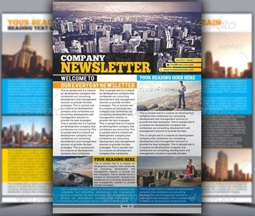 10 Newsletter Templates To Boost Your Marketing - Wiki Bus