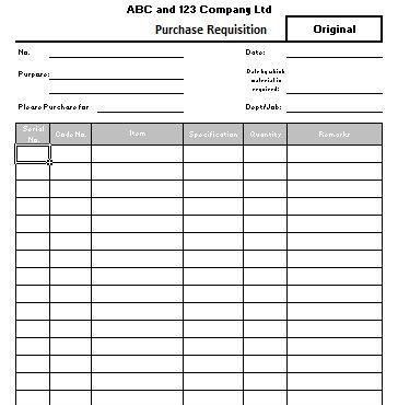 6 Requisition Form Templates - formats, Examples in Word Excel