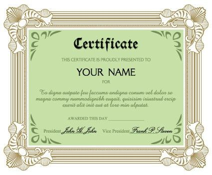 Diplomas and certificates design vector template 01 - Vector Cover ...