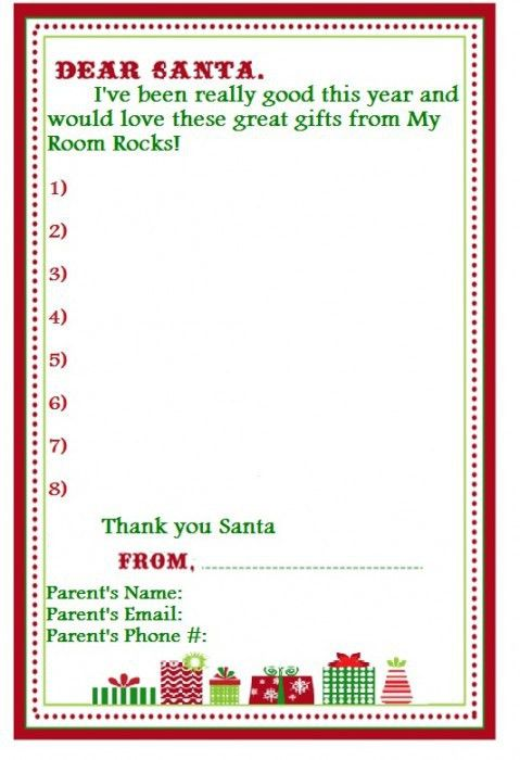 My Room Rocks! » Christmas Wishlists