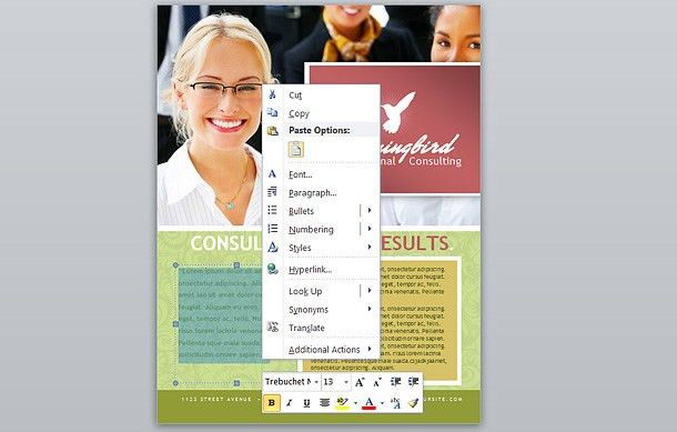 How To: Make A Business Flyer In Microsoft Word 2010 - Printaholic.com