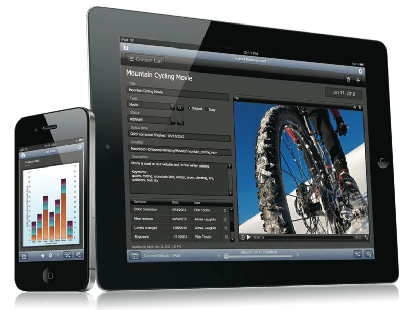 FileMaker 12 launches with new templates, iOS apps now free