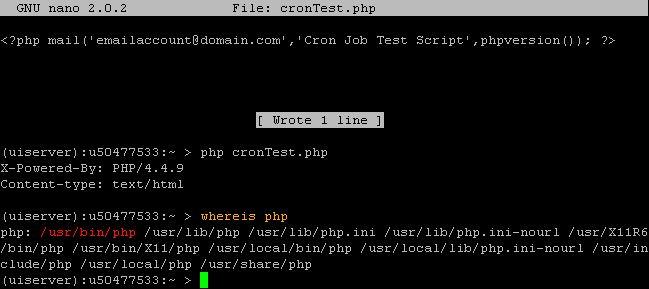Create a Cron Job - 1&1 Help Center