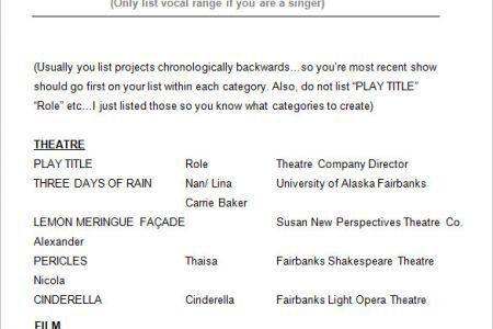 robert lepage actor resume. film actor resume sample acting resume ...