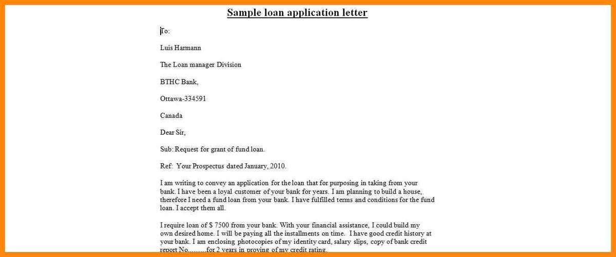 6+ loan application letter to bank | nurse resumed