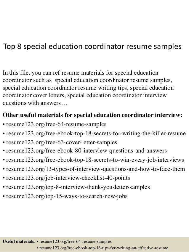 top-8-special-education-coordinator-resume-samples-1-638.jpg?cb=1431326986
