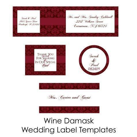 17 best Wine Labels DIY images on Pinterest   Wine bottle labels ...