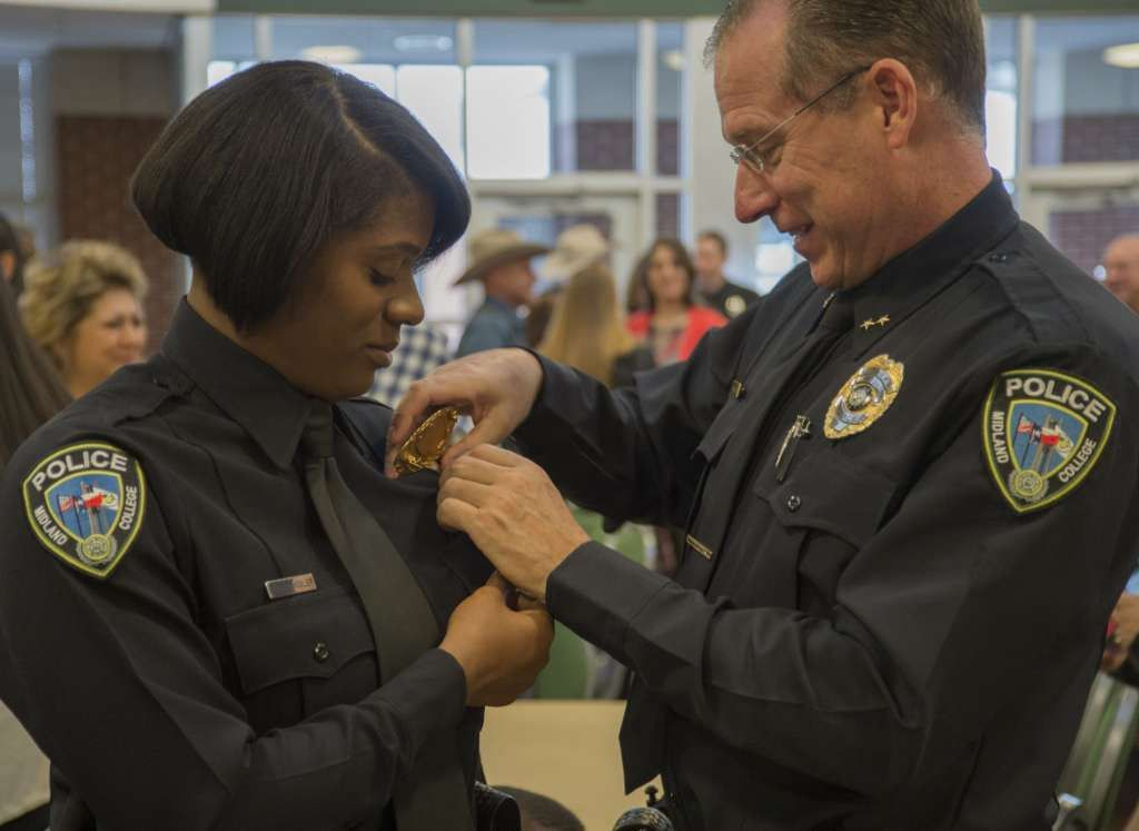 Police academy graduate balances family responsibilities - Midland ...
