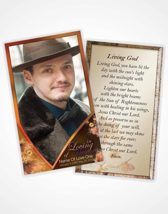 FuneralParlour | Funeral Program Template, Obituary Memorial Templates