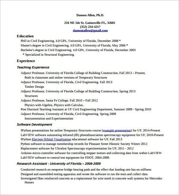Download Detailed Resume | haadyaooverbayresort.com