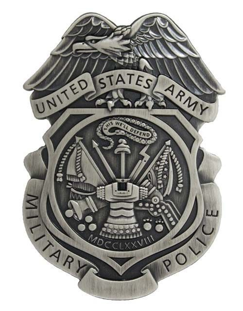 Military Police Badge | The US Army Military Police Badge ...