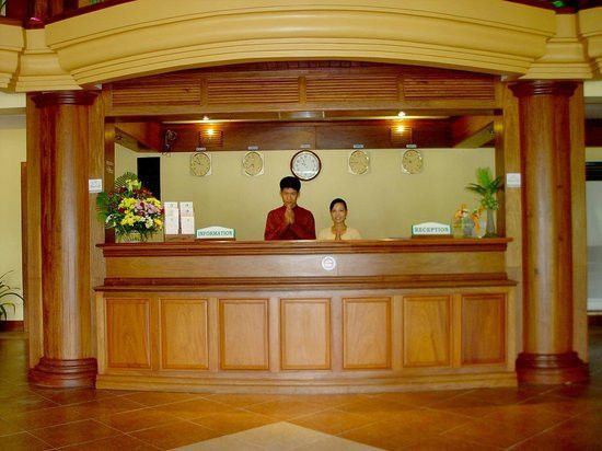 Receptionist (Front Desk Agent) - Picture of Golf Angkor Hotel ...
