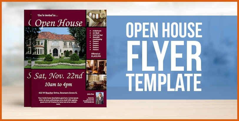open house flyer template | apa examples