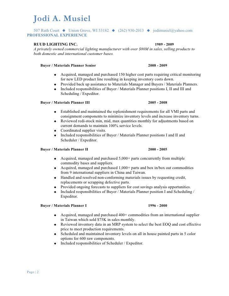 Musiel Jodi Resume Materials Planning (2)