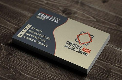 50 New and Absolutely Free Business Card Templates [PSD] | Designbeep