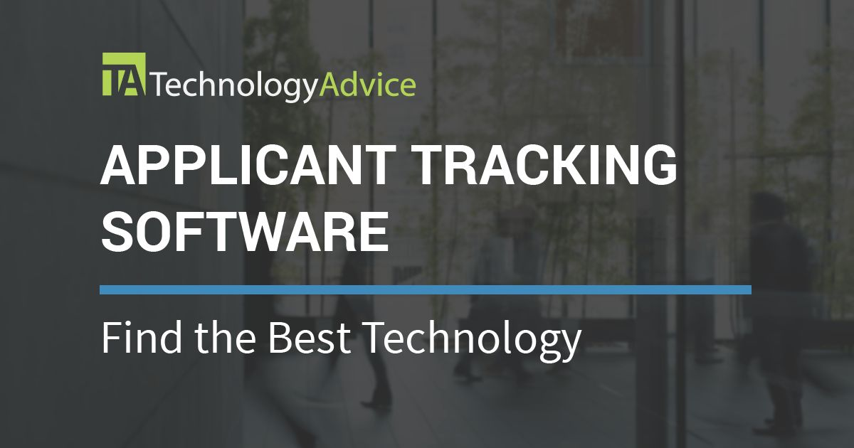 Best Applicant Tracking Systems 2017 | TechnologyAdvice