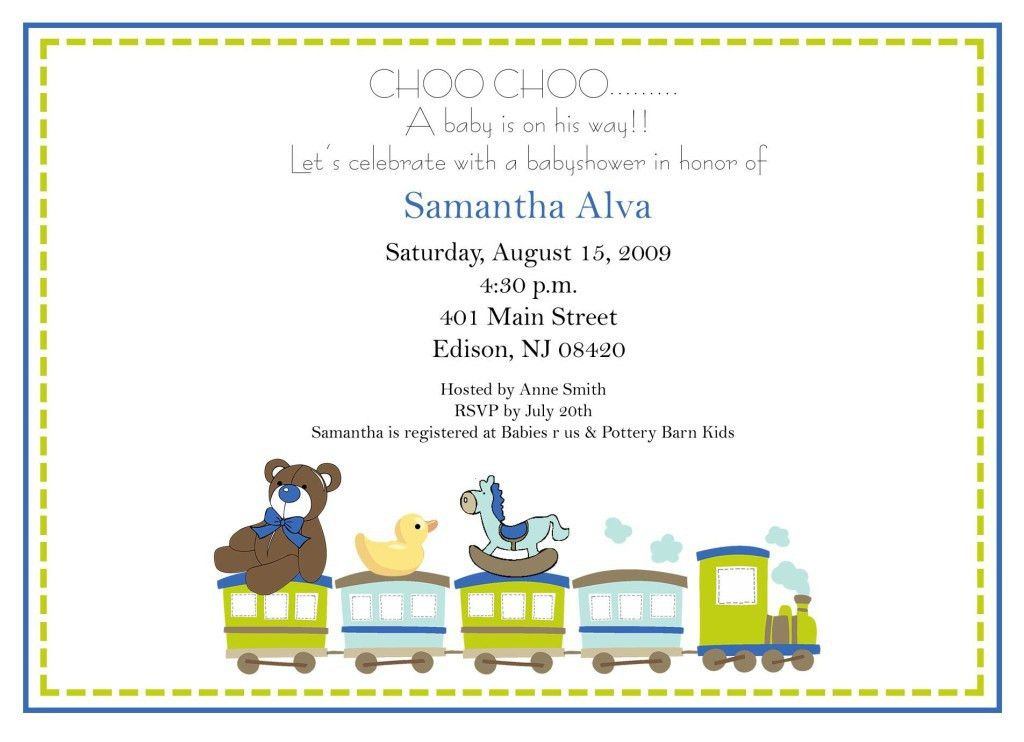 Gender Neutral Baby Shower Invitations Wording - Party XYZ