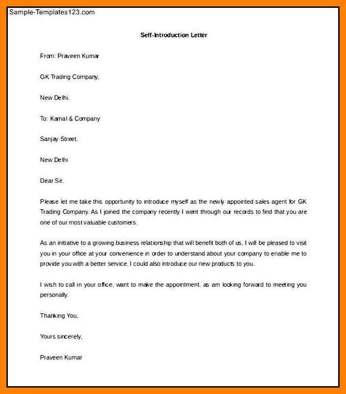 Letter Of Introduction Sample. Introduction Letter To Clients For ...
