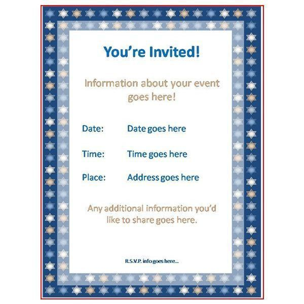 Sample Invitation Card For An Event | PaperInvite