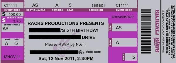 10 Best Images of Rock Concert Ticket Template - Concert Ticket ...