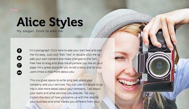 Resumes & CVs Website Templates | Portfolio & CV | Wix