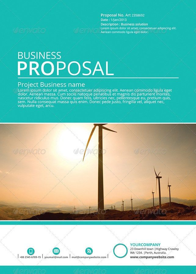 Gstudio Business Proposal Template by terusawa | GraphicRiver