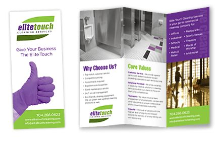 Print Design Charlotte NC | Corporate Communications | Tri-Fold ...
