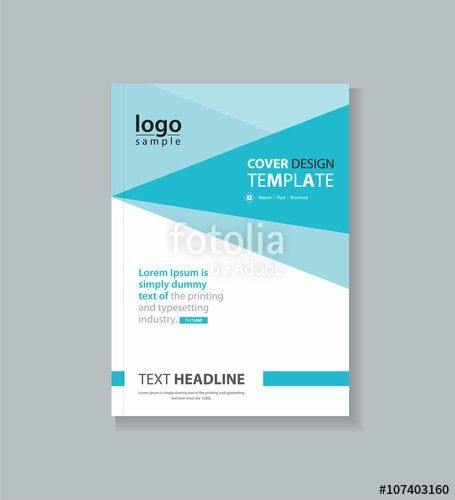 business cover design template , brochure , annual report, flyer ...