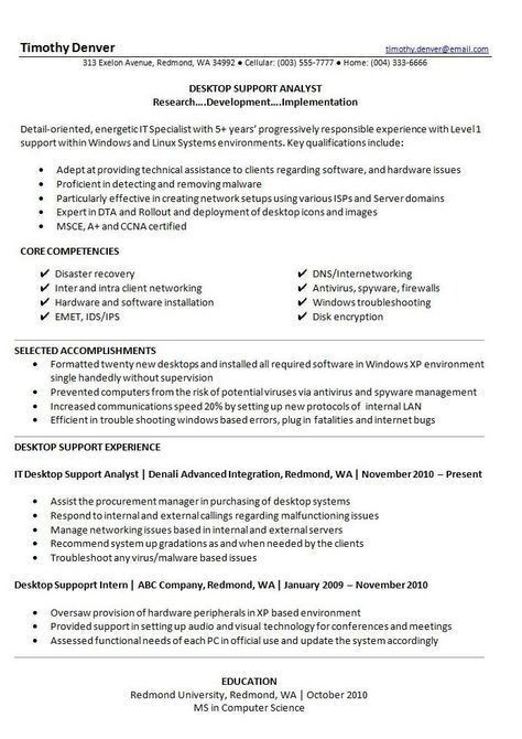 Best Resume Template 2014 | Recipes | Pinterest | Job resume ...