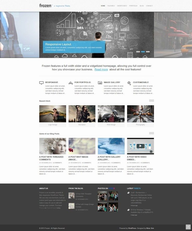 111 best WEBSITE TEMPLATES images on Pinterest | Website template ...