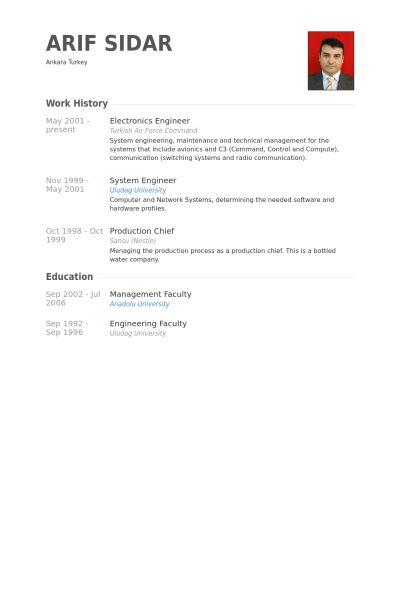 electronic engineering resume electronics resume template 8 free