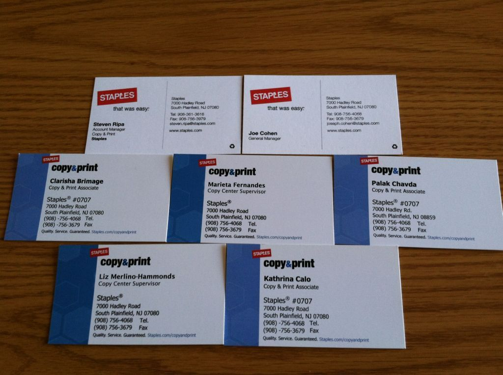 Business Cards Staples - lilbibby.Com