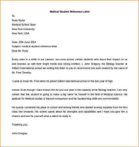 Letters Of Recommendation For Student. Student Recommendation ...
