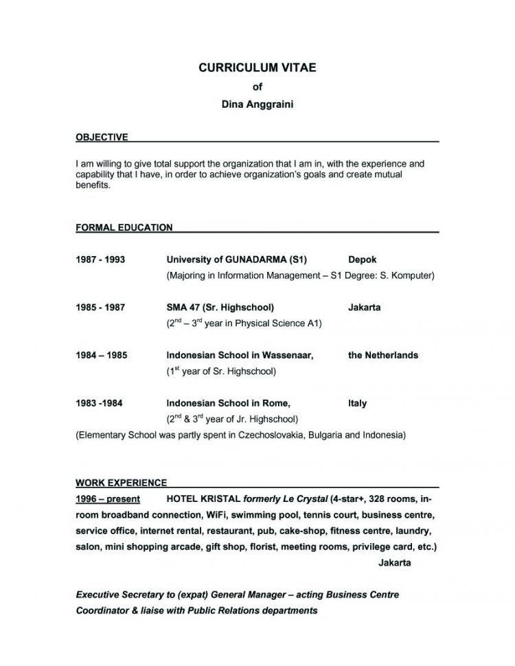 Fashionable Great Objectives For Resumes 4 General Career ...