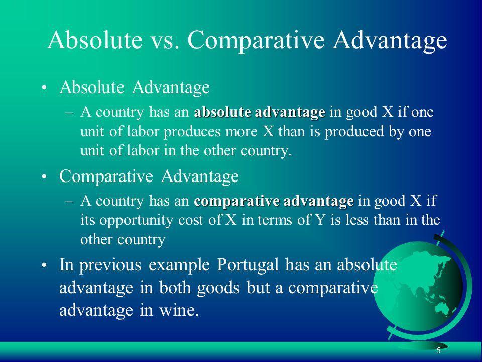 1 BA 187 – International Trade Ricardo and Comparative Advantage ...