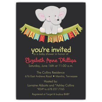 Baby Shower Invitation wording | PaperStyle