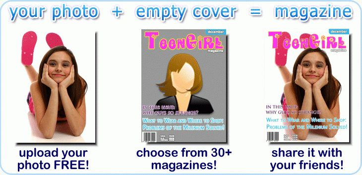 Put Your Photo on a Magazine Cover : FaceOnTheCover.com