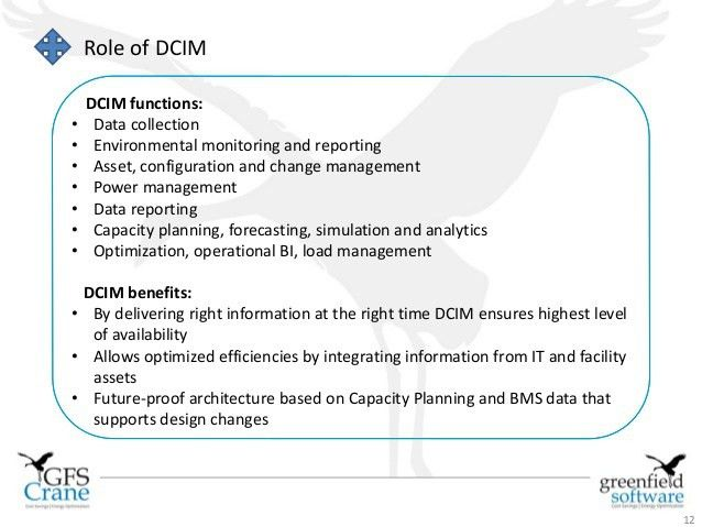 DCIM: ERP for the Data Center Manager