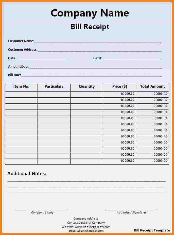 3+ official receipt sample word | sample of invoice