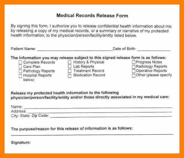 Medical Information Release Form. Medical Release Form 04 30+ ...