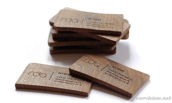 Business Cards: 50 Creative Examples of Unusual Business Card Designs