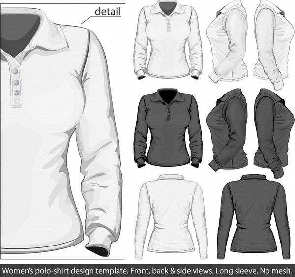 Polo shirt and t-shirt design template Free vector in Adobe ...