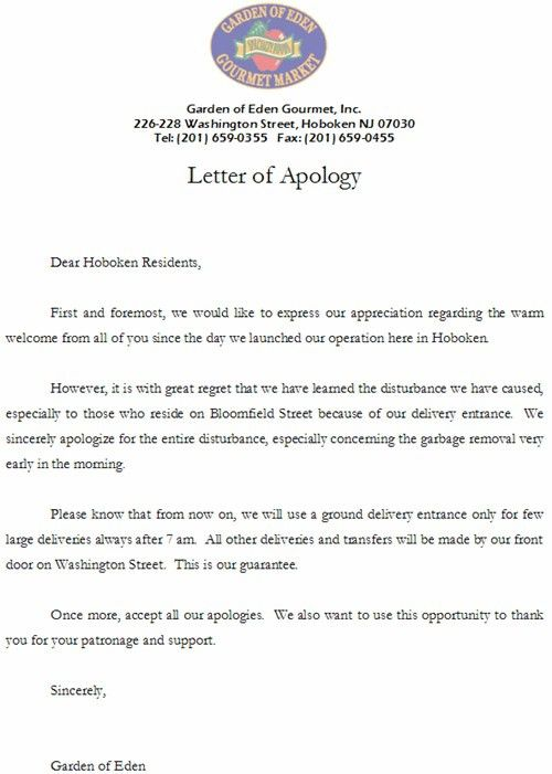 Business Apology Letter | custom-college-papers