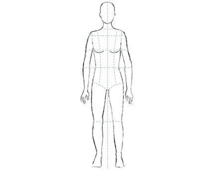 31 best fashion sketch body images on Pinterest | Fashion sketches ...