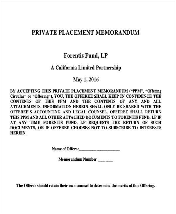 8+ Memorandum Sample - Examples in Word, PDF