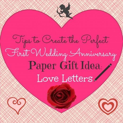 Tips to Create the Perfect First Wedding Anniversary Paper Gift ...