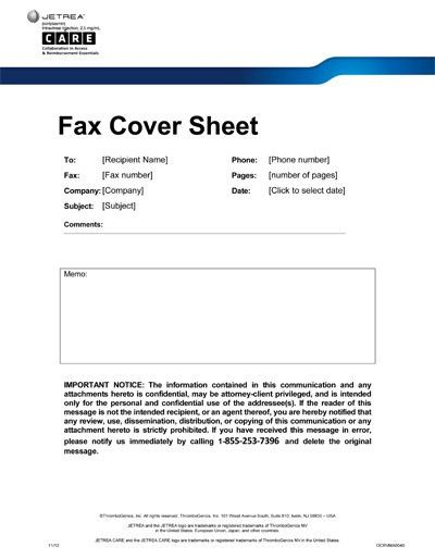 12 Best Images of Fax Cover Sheet Privacy Notice - Confidential ...